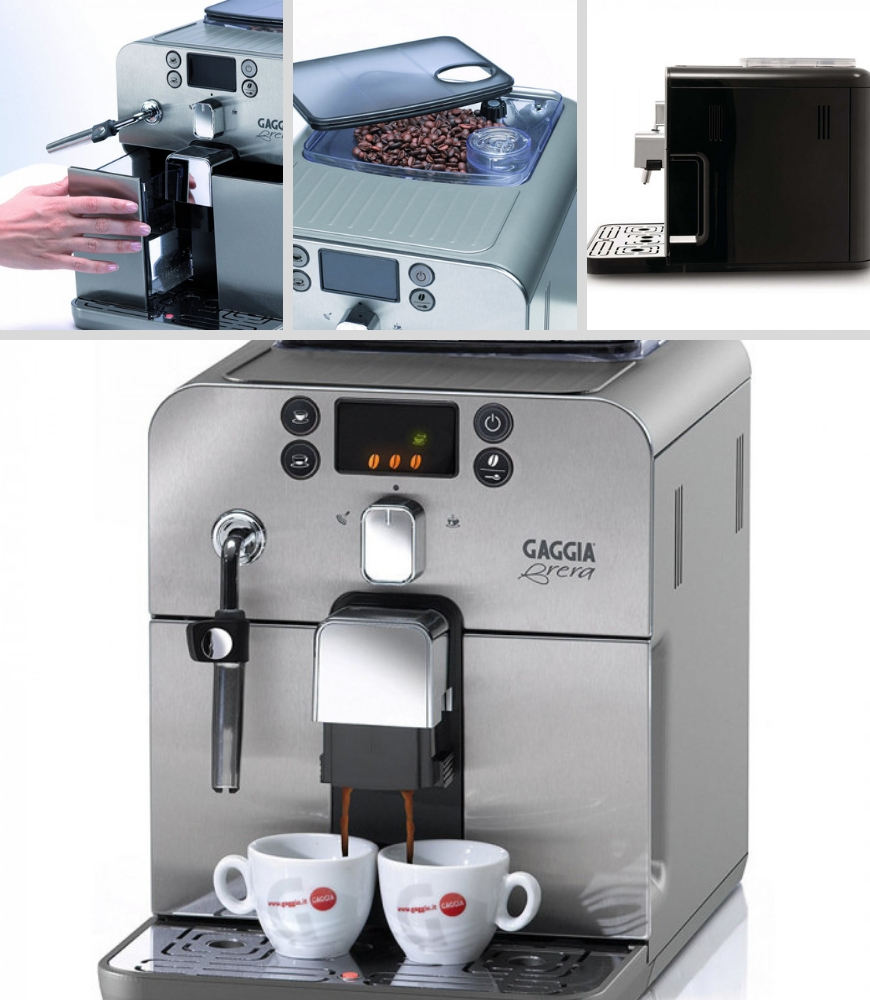 Features of the Gaggia coffee machine